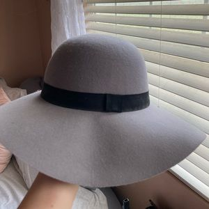 Cotton On Gray floppy hat!